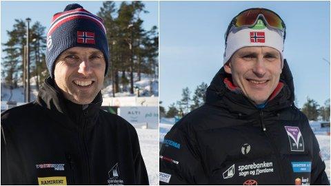 PRIS: Norges Skiforbund har kåra Førde og Gaular idrettslag sine langrennsgrupper til årets arrangør. Fredag mottok rennleiar Andre Haugsbø i Gualar IL (t.v) og leiaren for langrenn i Førde IL, Yngve Thorsen prisen.