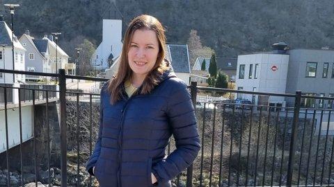 MARITAS VELVÆRE: Marita Norevik Pedersen startar velværesalong.– Det er veldig spennande, men òg skummelt. Det er mykje ein skal setje seg inn i, seier 33-åringen.