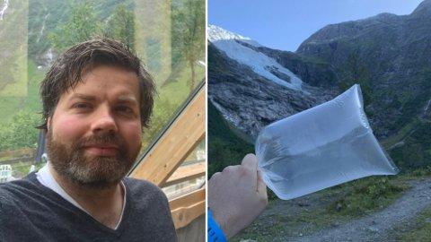 KREMMAR: Jo Marius Bøyum Bøyabreen måtte gni seg i augene då han såg at nokon hadde slått til på annonsen han mest la ut på spøk.