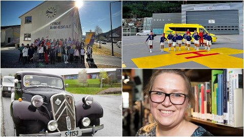PROGRAMMET: Barnesong frå fjerdeklassingane i Sunnfjord kommune, veteranbiltog og drill blir noko vi får sjå på sendinga på nasjonaldagen.
