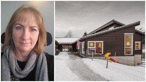 I FOKUS: Anne-Jorunn Fauske er styrar i Bygstad barnehage som har dei lågaste sjukefråværstala i Sunnfjord kommune i 2020. Ho meiner det heng saman med at dei har eit godt arbeidsmiljø i barnehagen.