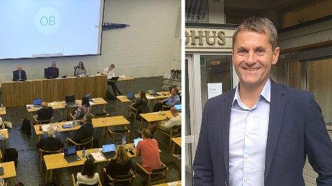 DRASTISK VENDING: Kommunestyret var torsdag samla for å tilsetta ny administrasjonssjef. I staden valde den innstilte kandidaten, Arne Johansen, å trekkja seg.