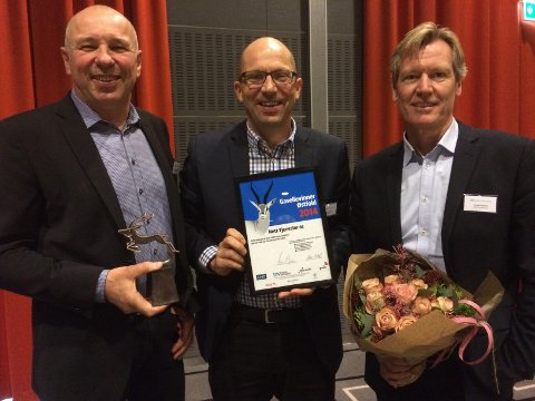 VANT: Arild Johnsen (daglig leder), Frode Ludvigsen (fagansvarlig) og Trond Delbekk (styreleder) fra Nett-Tjenester as.