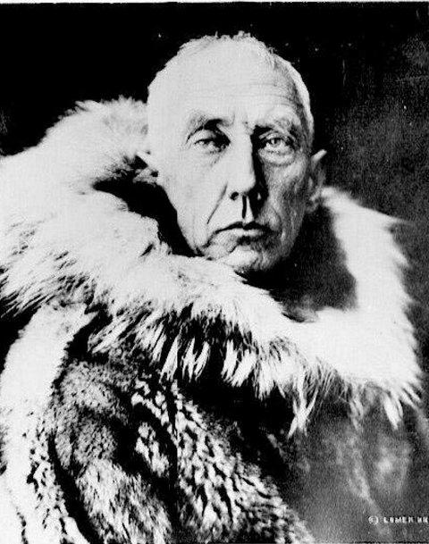 Hentet samling: Roald Amundsen hentet Korens fangst i 1919. Arkivfoto: fbs arkiv
