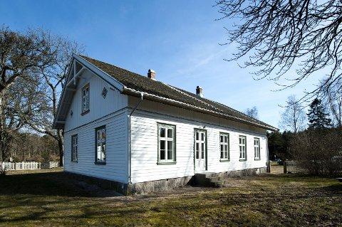 Bodde her 1891-93: Det var på Hvaler prestegård at Korens naturinteresse skal ha blitt vakt. Arkivfoto: Erik Hagen