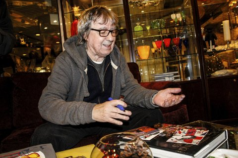 TOPP MØTE: Bill Wyman på City 20. november 2014.