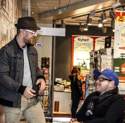 Sammen er de dynamitt: Aksel Kolstad (til venstre) og Jan-Erik Fjell starter et langsiktig samarbeid.foto: john johansen