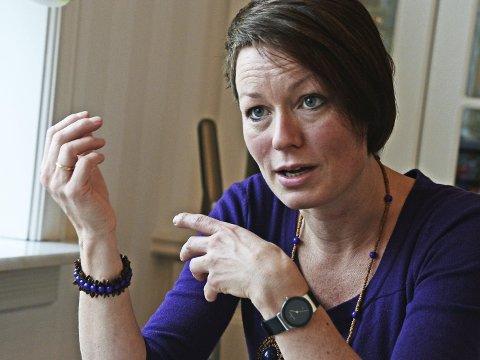 Frykter konsekvensene: Line Henriette Hjemdal, KrF, vil beholde boplikt og konsesjonslov. Arkivfoto: Geir A. Carlsson