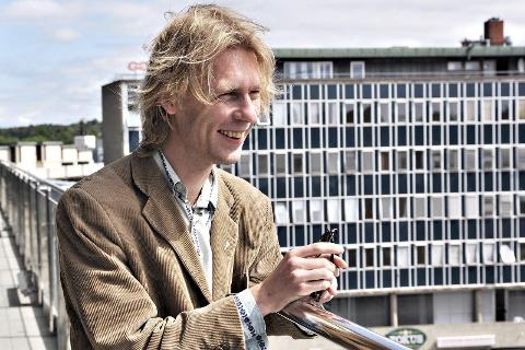 Mmm: Jon Øystein Flink vil snakke om sin nye krim på Fredrikstad bibliotek 8. februar.