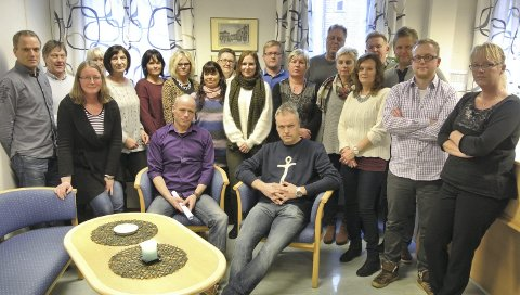 25 stillinger er i fare: Kemneren i Fredrikstad har i dag 37 ansatte. Under en tredjedel blir igjen i byen hvis regjeringens forslag blir vedtatt.