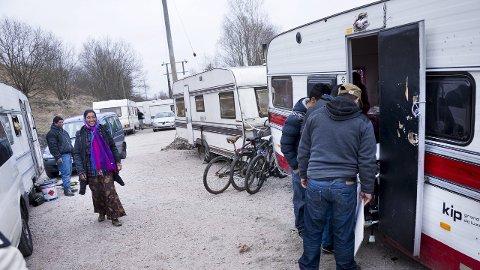 Ny utredning om romleir: Det blir ingen nedleggelse av leiren i Kiæråsen i vår. Ap ber om mer informasjon om de mulige konsekvensene. 8Arkivfoto: Trond Thorvaldsen