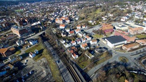 «Grønli endestasjon»: Kjell Arne Græsdal frykter at Intercity-utbyggingen stanser her. Styret i Rett Linje mener det er argument for en ny utredning. (Arkivfoto: Erik Hagen)