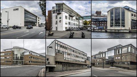 COWI-bygget, Fagskolen, høyskolen, politihuset, kriminalomsorgen og tingretten er alle svensk-eide.