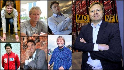 DISSE ER INNSTILT: Her er valgkomiteens innstiling til nytt FFK. styre. Bak fra venstre: Gjøril Johnsson Solberg, Kjell Krathe og Håvard F.R. Johansen. Foran til venstre: Wenche Halvorsen Stensrud, Pål Andrè Czwartek og Øyvind Stene. Helt til høyre: Jostein Lunde