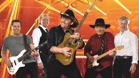 Country: Rune Rudberg og hans band byr pådansbare toner sombikker mer over mot country.
