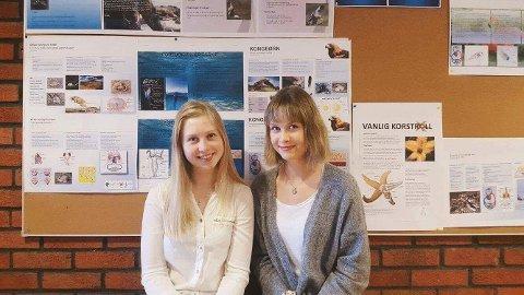 Reagerer: Vilde Eriksen  og Julie Glemminge har hatt tre svært lærerike år på Miljøforsk. De synes det er synd at tilbudet legges ned.