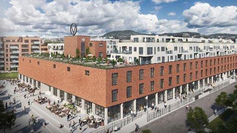 SKAL  BYGGE 45.000 KVADRATMETER: Det er store dimensjoner på prosjektet Solid Entreprenør har fått ansvaret for på Vinmonopolets gamle eiendom i Oslo.