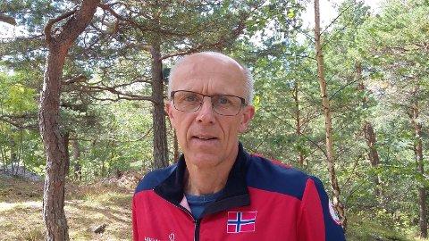 """Tidligere toppløper i orientering, Svein Jakobsen, har på sine """"eldre dager"""" funnet presisjonsorientering som en artig konkurranseform."""