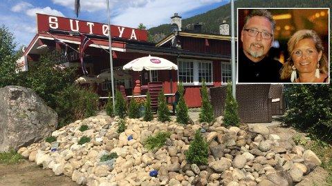 FØLGER DRØMMEN: Kai Halvorsen og Hege Hjørnegård valgte å flytte fra Fredrikstad for å drive Sutøya feriepark i Hallingdal.