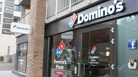 KOMMER TIL BYEN: Domino's pizza åpner i Fredrikstad i løpet av høsten.