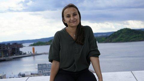 OSLO/FREDRIKSTAD: Seher Aydar er fra Fredrikstad, og nå kan hun havne på Stortinget. Hun er 2. kandidat fra Rødt i Oslo.