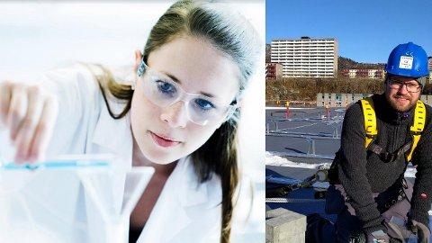 Den ene finner erstatninger for oljen, den andre monterer solceller. Slik vil Borregaard og Solcellespesialisten skape flere arbeidsplasser.