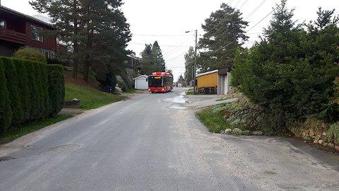 Tilbake. Bussen vil igjen kjøre gjennom Pettersand.
