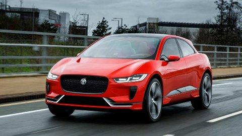 Jaguar har jobbet på spreng med å få klar sin I-Pace, nå er det straks klart for offisiell premiere. Det er ventet at produksjonsklar bil skal være svært lik konseptbilen, over.