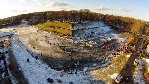 Folkefest: Vollgravene Winter Classic arrangeres førstkommende lørdag. (Foto: Morten Marius Apenes)