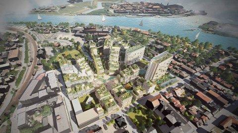 Cicignon park blir et gigantisk prosjekt i hjertet av bydelen. Nå er prosjektet ett skritt nærmere å bli en realitet.