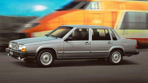 """Volvo 760 som kom i 1982, var den første Volvoen som virkelig yppet seg i """"Årets bil-kåringen""""."""