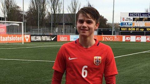 KAPTEINEN: Thomas Rekdal fikk kapteinsbindet under kvalifseringen til EM.