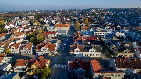 Nybygg: Firmaet Estar har planer for 30 nye leiligheter. Eiendomsutvikler Helge Hunderi tror dette vil løfte området.