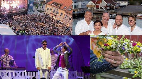 Idyllfestival, Sankthans-feiring og utstillingsåpning av Nico Widebergs arbeider er bare noe av det som skjer denne helgen.