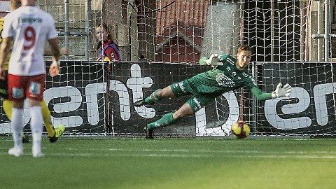 REDNINGSMANN: Håvar G. Jenssen har fremstått som redningsmann for FFK denne sesongen.