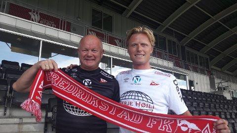 HERE WE GO AGAIN: Andreas Aalbu (til høyre) trives allerede under Per-Mathias Høgmos ledelse.