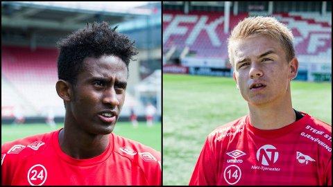 AVVENTER: Anas Farah og Thomas Rekdal avventer situasjonen i FFK. FOTO: Arkiv
