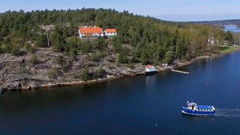 Jubilant av året: Bloksberg ble bygd av trelasthandler Thomas Angell Wiese i 1918, og har vært i kongefamiliens eie siden kong Olav kjøpte eiendommen i 1947.