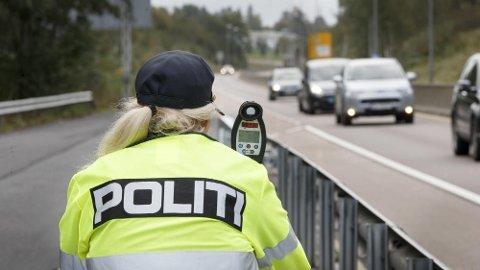 """Økt risiko for å bli """"tatt"""" er viktigst for å holde farten nede på lovlig nivå."""