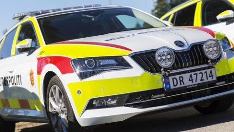 Skoda Superb med største motoralternativ er den nye fartsressursen til Militærpolitiet. (Foto: Marion Aaserud Dahlen, Forsvaret)