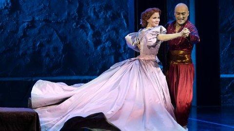 Vanskelig forhold: Anna og kongen sliter med sin uforløste kjærlighet.
