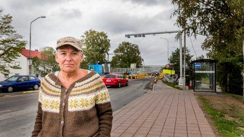 Kirsti Nelvik har tatt initiativ til protesttoget mot bomringen som skal gå fra Stortorvet tirsdag 11. september klokken 19. Fredriksstad Blad oppfordrer folk til å møte opp.