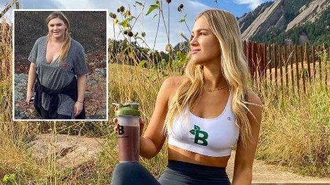 NYTT LIV: Mari Llewellyn har gått ned over 30 kilo siden hun begynte livsstilsendringen i 2017.
