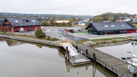 Startstedet: Kommunen har bygd et nytt fergeleie på Ålekilene på Gressvik, til den nye ruten som skal gå herfra til sentrum.