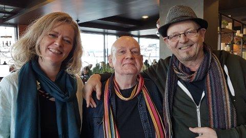 DEBUTERER: Artisten og produsenten Jorunn Westeraas, komponisten Bjørn Ersvik og tekstforfatteren Stig Nilsson samarbeider under navnet «Født på ny» om et nytt album i 2020 og en singel som kommer ut 2. desember.