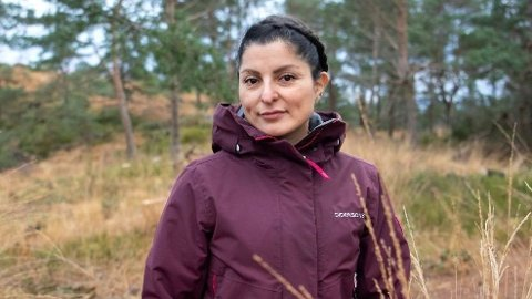 EN TØFF KAMP: Men Judih Johansen har klart å komme seg på økonomisk fote igjen, takket være en knallhard arbeidsinnsats.