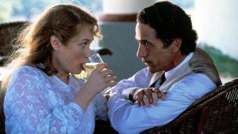 Jeremy Irons og Meryl Streep i filmen Åndenes hus (The House of the spirits)