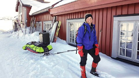 Pia Marie Arnesen ankommer Fondsbu.