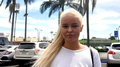 FÆL OPPLEVELSE: Vanessa Monstad (22) gikk gjennom den skumle episoden allerede første uken hun bodde i Los Angeles.