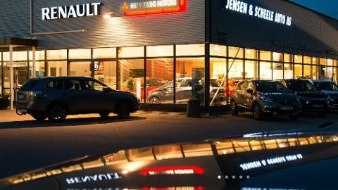 Vant. Jensen & Scheele Auto i Halden varnt prisen for   «Årets lærebedrift» i Østfold.